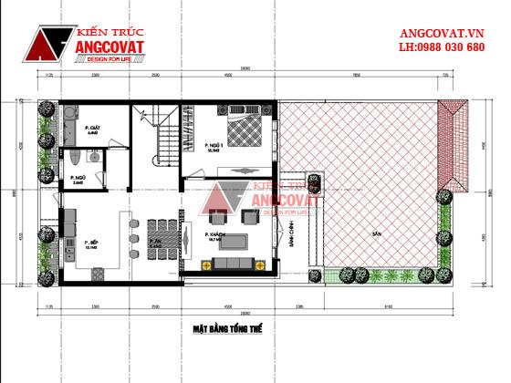 Top 3 mẫu xây nhà 2 tầng khoảng 1 tỷ có phong cách kiến trúc độc đáo 2